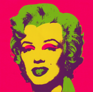 """""""Marilyn Print"""". 1967. Serigrafía sobre papel. Collection of the Andy Warhol Museum, Pittsburg © 2017 The Andy Warhol Foundation for the Visual Arts, Inc. / VEGAP"""
